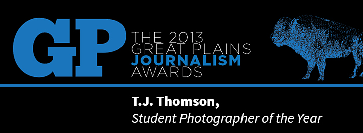 Thomson captured the 2013 Student Photographer of the Year title May 17, 2013.