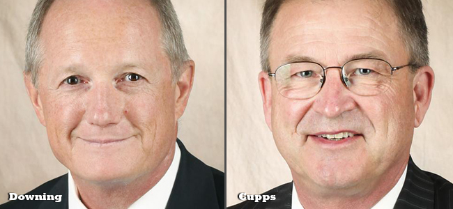 University of Missouri System Curators Don Downing and Donald Cupps will lead the board as its chairman and vice chairman, effective Jan. 1, 2014.