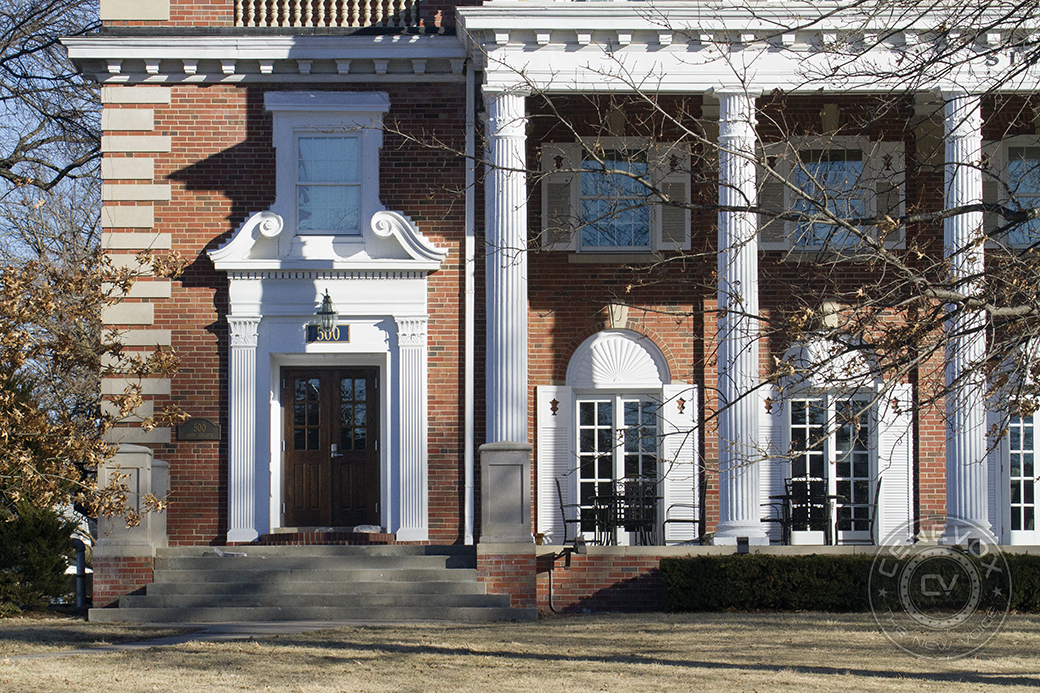 The Xi Xi chapter of the international men's fraternity Sigma Chi sits at 500 S. College Ave. in Columbia, Mo. This chapter was founded in 1896 and maintains an active roster of about 140 men.